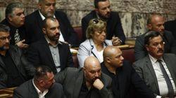 Προσωρινό αποκλεισμό των βουλευτών της Χρυσής Αυγής αποφασίζει η Ολομέλεια της