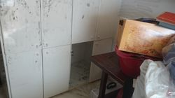 Αυτή είναι η ντουλάπα όπου κρύφτηκε για 14 ώρες ο περιβόητος ληστής στο