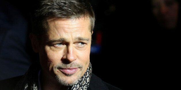 Actor Brad Pitt arrives at the premiere of the film