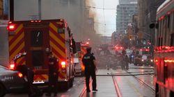 Εκρήξεις στο οικονομικό κέντρο του Τορόντο, λόγω φωτιάς σε υπόγειο