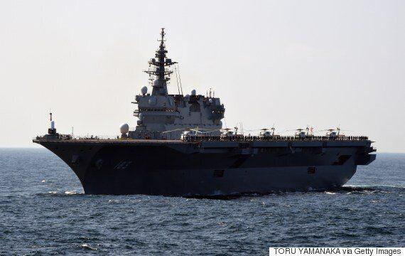 Η Ιαπωνία έστειλε το μεγαλύτερό της πολεμικό για να συνοδέψει αμερικανικό
