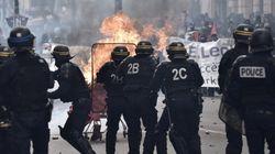 Γαλλία: Επεισόδια μεταξύ αστυνομικών και κουκουλοφόρων στο περιθώριο της πορείας για την εργατική