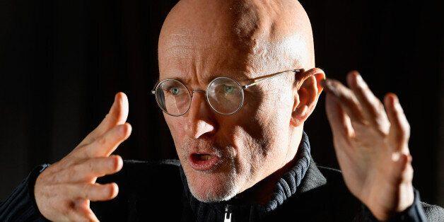 GLASGOW, SCOTLAND - NOVEMBER 18: Italian surgeon Sergio Canavero gives a press conference on November...