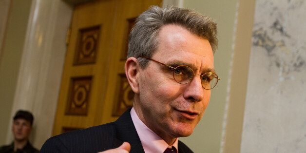 US Ambassador to Ukraine Geoffrey R. Pyatt. Ukraine's parliament ratified an agreement to accept a 610...