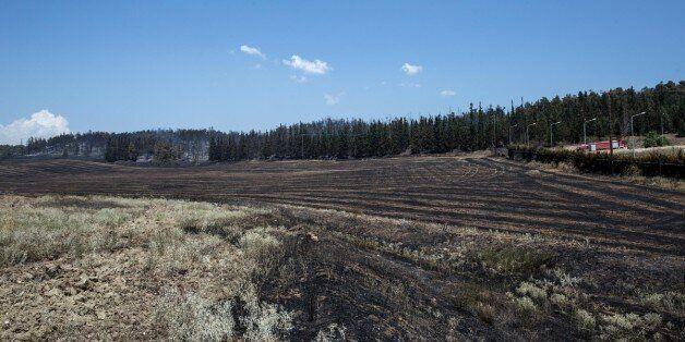 Απαγορεύεται η καύση σε αγροτικές εκτάσεις με πυροσβεστική