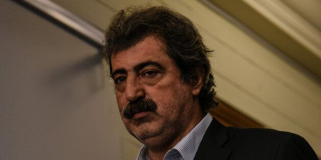 Alternate Minister of Health, Pavlos Polakis attends kick up meeting of the new cabinet of PM Alexis...
