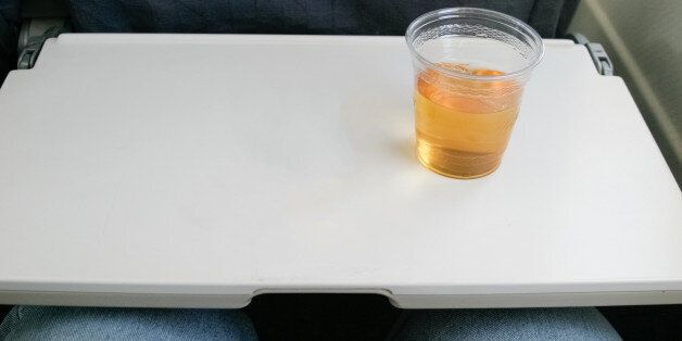 This is what you get now for a plane ticket. A drink and nothing