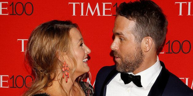 Actor Ryan Reynolds and wife Blake Lively arrives for the Time 100 Gala in the Manhattan borough of New...