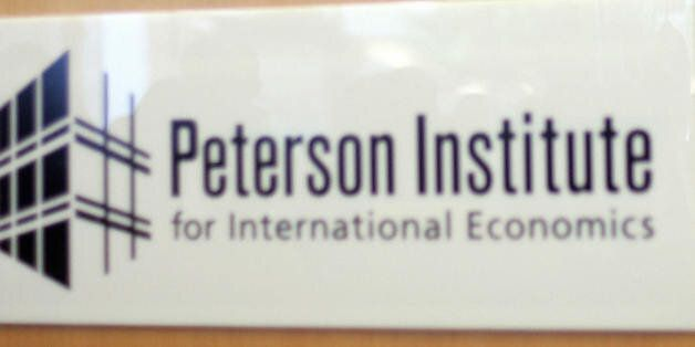 Indian Minister of Finance P. Chidambaram speaks on the economy at the Peterson Institute for International...