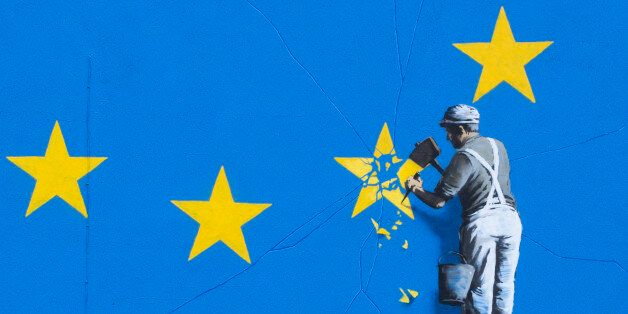 Graffiti artist Banksy has unveiled his latest piece about Brexit in Dover, United Kingdom. The artwork...