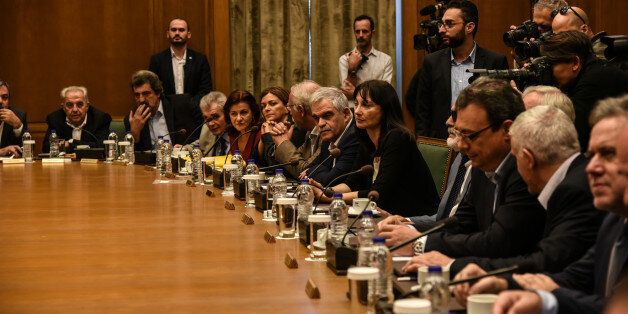 Kick up meeting of the new cabinett Tsipras in Athens, on November 6, 2016. (Photo by Wassilios Aswestopoulos/NurPhoto...