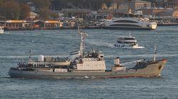 Το ρωσικό πλοίο Liman βυθίστηκε κοντά στον