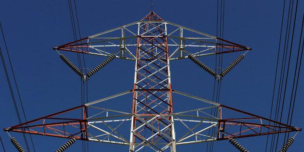 A Terna high voltage pylon is seen in Montalto di Castro, central Italy, April 27, 2016. REUTERS/Max