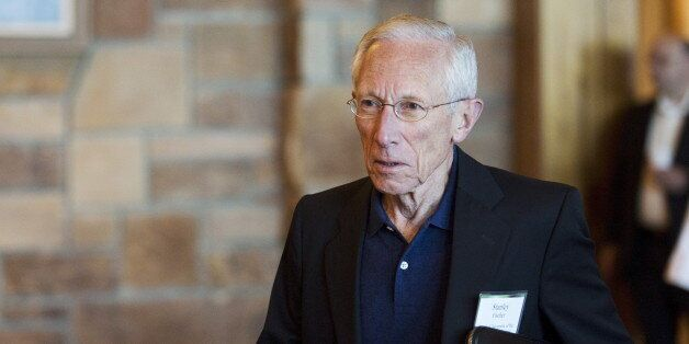 Federal Reserve Vice Chairman Stanley Fischer attends the Federal Reserve Bank of Kansas City's annual...