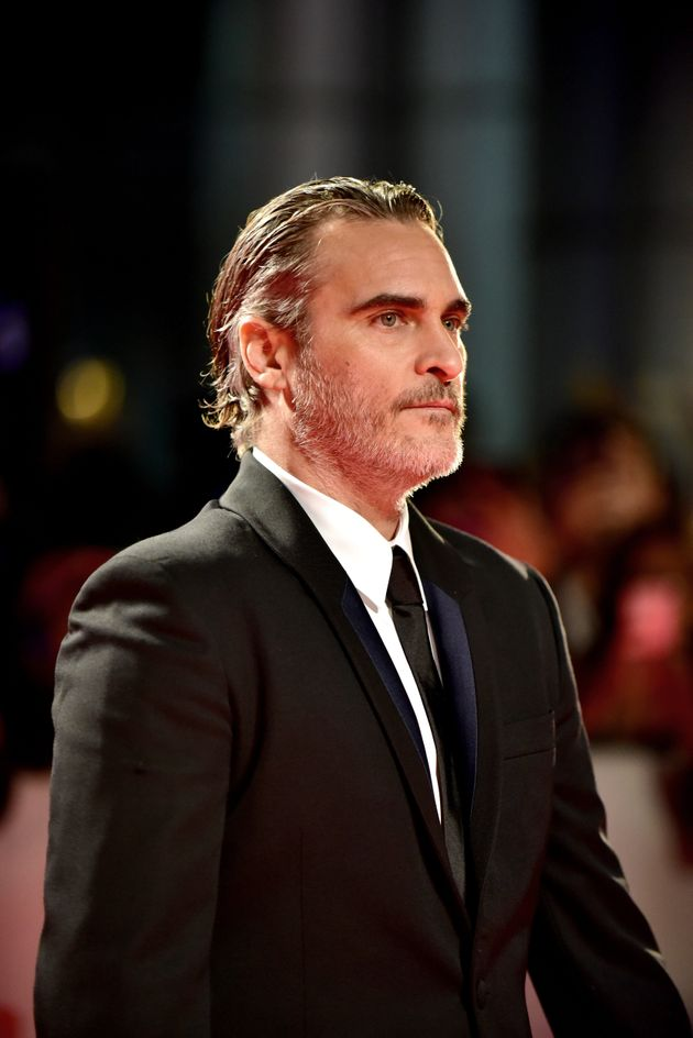 Joaquin at the Toronto International Film Festival, where Joker