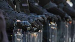 Επιχείρηση της αστυνομίας στον καταυλισμό προσφύγων και μεταναστών της ΒΙΑΛ στη
