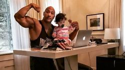 Ο «The Rock» παραδίδει μαθήματα φεμινισμού στην 16 μηνών κόρη του αλλά και στους γονείς