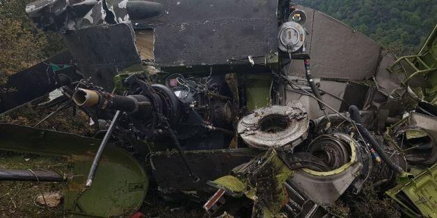 Τέσσερις νεκροί από την πτώση στρατιωτικού ελικοπτέρου στην