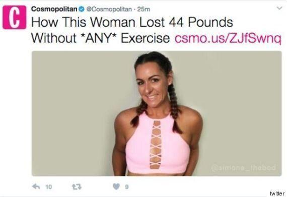 Ο καρκίνος είναι η νέα «τάση» στις δίαιτες για το Cosmpolitan και φυσικά αξίζει όλα τα οργισμένα σχόλια...