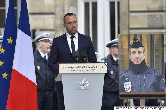 Ένας ύμνος κατά του μίσους. Αυτό ήταν ο επικήδειος του συζύγου του νεκρού αστυνομικού κατά την τρομοκρατική...
