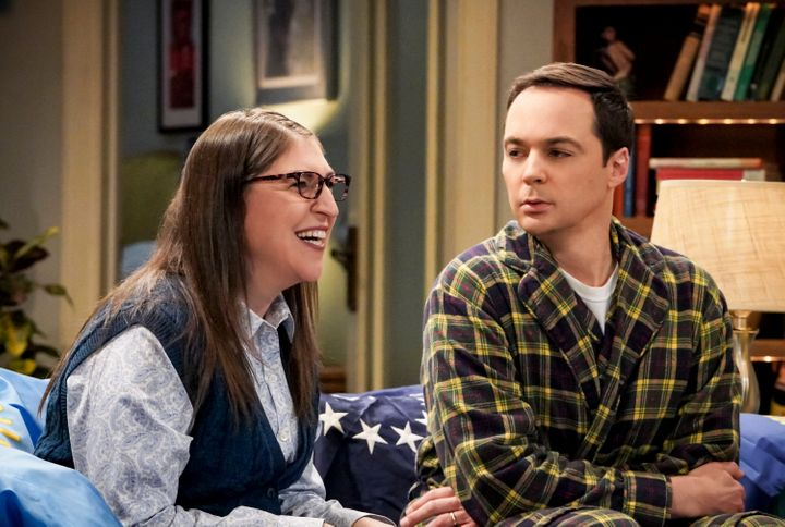 "Mayim Bialik and Jim Parsons are moving on from playing Amy and Sheldon in the recently ended ""Big Bang Theory"" to a new sitc"