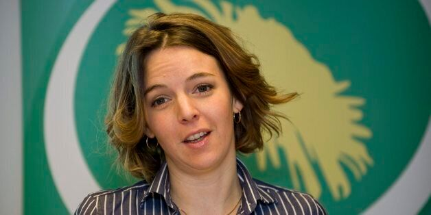 This file picture taken on January 19, 2009 in Stockholm shows UN Swedish employee Zaida Catalan. 36-year-old...