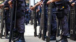 Αστυνομικοί κατά αστυνομικών έξω από το Κογκρέσο της