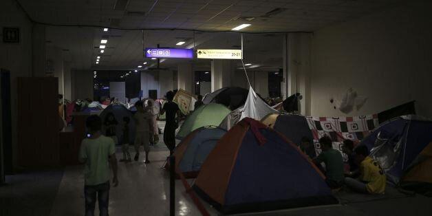 'Εκκληση της Διεθνούς Αμνηστίας να εκκενωθούν οι καταυλισμοί στο Ελληνικό λόγω απαράδεκτων συνθηκών