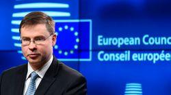 Ντομπρόβσκις: Να ολοκληρωθεί η δεύτερη αξιολόγηση του ελληνικού προγράμματος το συντομότερο