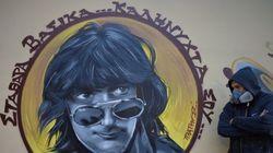 «Σταθάρα βασικά... καληνύχτα σου»: Το εντυπωσιακό γκραφίτι στη μνήμη του Στάθη