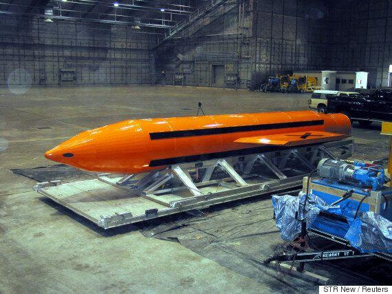 Οι ΗΠΑ έριξαν την ισχυρότερη συμβατική βόμβα που διαθέτουν κατά στόχων του Ισλαμικού Κράτους στο