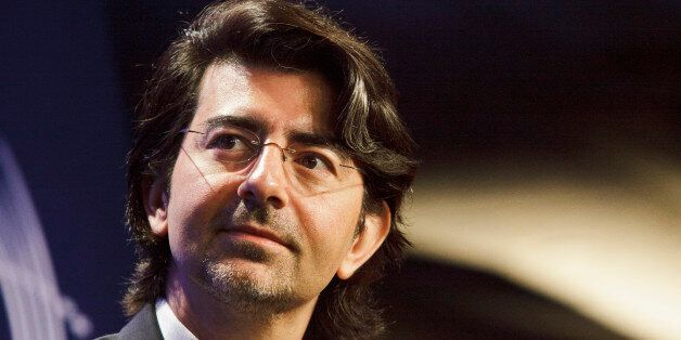 Pierre Omidyar, Founder and Chairman of eBay and the Omidyar Network, at the sixth annual meeting of...