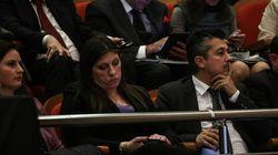 Σόου σε εκδήλωση της Αντιπροσωπείας της Κομισιόν όταν η Ζωή Κωνσταντοπούλου εξαπέλυσε επίθεση κατά της