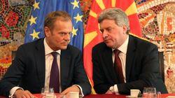 Ο Τουσκ καλεί την ΠΓΔΜ να συγκεντρωθεί στην πορεία ένταξής της στην