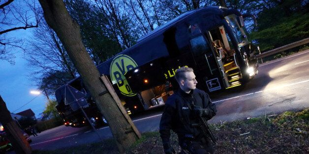 Football Soccer - Borussia Dortmund v AS Monaco - UEFA Champions League Quarter Final First Leg - Signal...