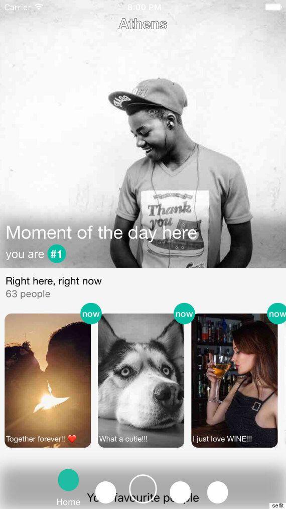 Το Self' it είναι ένα ελληνικότατο app που κάνει τις στιγμές σου