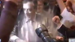 Νεαρός έριξε αλεύρι στον υποψήφιο της κεντροδεξιάς στις γαλλικές προεδρικές εκλογές, Φρανσουά