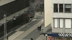 Φορτηγό έπεσε πάνω σε ανθρώπους στη