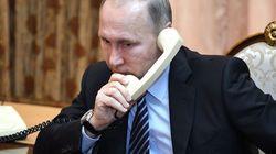 Τηλεφωνική επικοινωνία Πούτιν-Ρουχανί για τους αμερικανικούς βομβαρδισμούς στην