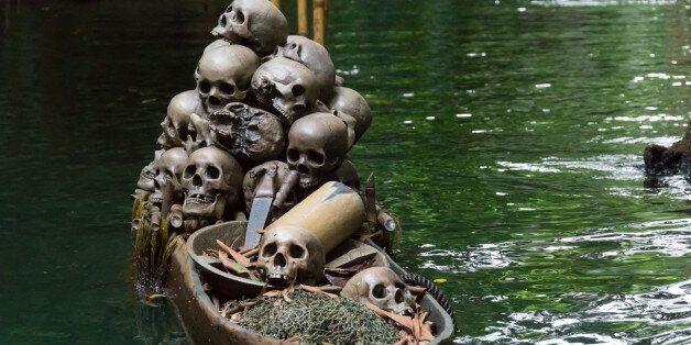 Skulls on
