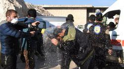 Συρία: Δεκάδες νεκροί από ασφυξία κατά τη διάρκεια αεροπορικής επιδρομής με τοξικό