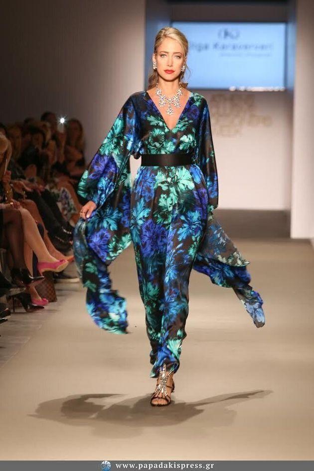 Η Olga Karaververi παρουσίασε τη νέα Haute Couture συλλογή της για το Καλοκαίρι/Φθινόπωρο