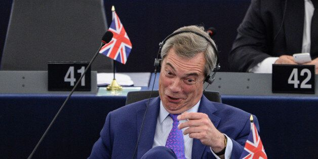 Member of the European Parliament and former leader of the anti-EU UK Independence Party (UKIP) Nigel...
