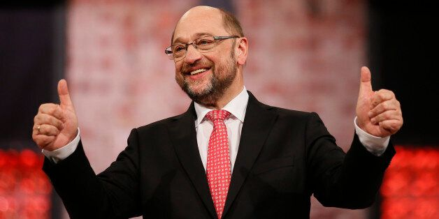 Incoming Social Democratic Party (SPD) leader and candidate in the upcoming general elections Martin...