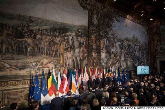 Υπεγράφη η Διακήρυξη της Ρώμης. Υποσχέσεις, ευχές και προειδοποιήσεις για μια ενωμένη