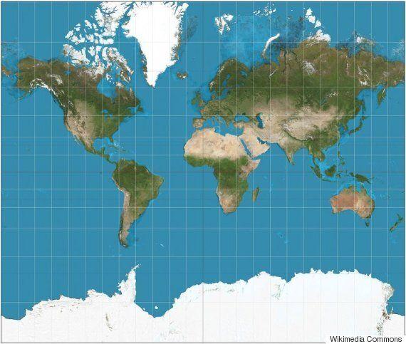 Γιατί ο πιο δημοφιλής χάρτης του κόσμου είναι εντελώς