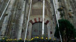 Καταστροφική φωτιά στο ιστορικό τέμενος Βαγιαζήτ στο