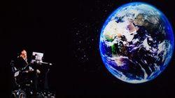 Ο Στίβεν Χόκινγκ «εμφανίστηκε» σαν ολόγραμμα και μίλησε στο ενθουσιώδες κοινό για την αξίας της