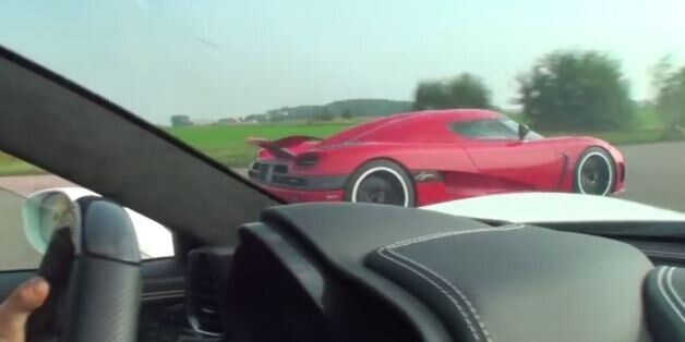 «The Need for Speed»: Koenigsegg Agera εναντίον Ferrari 458
