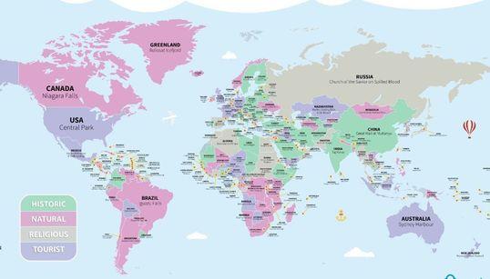 Ποιο είναι το ένα πράγμα που πρέπει να δει οπωσδήποτε κάποιος σε κάθε χώρα; Η απάντηση σε έναν